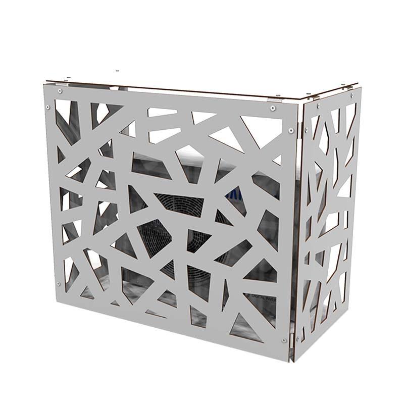 Outdoor Decorative Aluminum Air, Outdoor Air Conditioner Covers